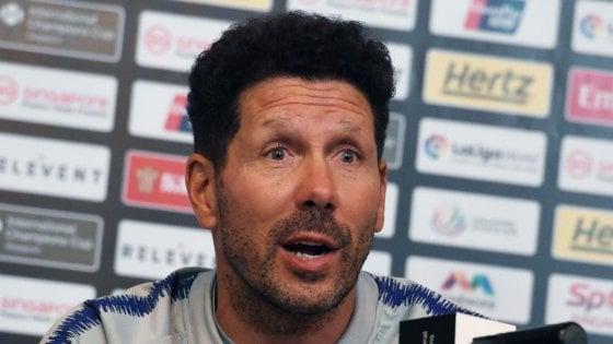 Atletico Madrid, Simeone positivo al Covid-19: è asintomatico e si trova in isolamento a casa