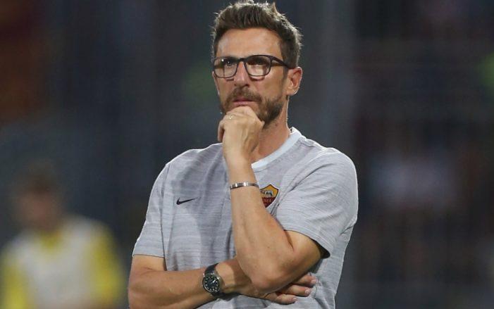 """Roma, Di Francesco: """"Alisson? Spero di batterlo"""""""