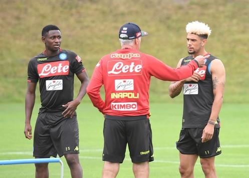 Napoli, la vigilia di Ancelotti tra Ospina ed i dubbi di formazione