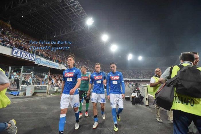 Serie A: Napoli-Sassuolo, un'altra vittoria azzurra a 1,35