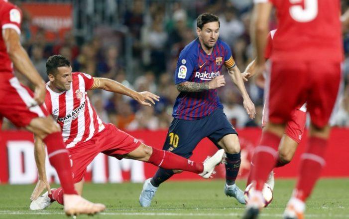 Barça, solo 2-2 col Girona: aggancio Real in vetta