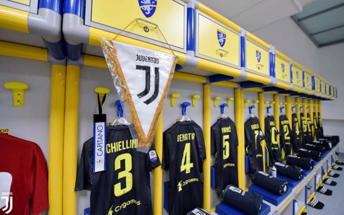 Frosinone-Juventus LIVE: formazioni ufficiali