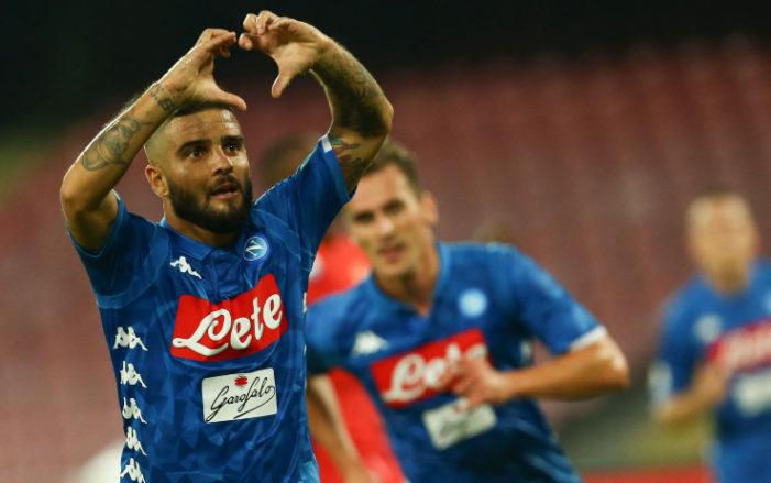 Serie A, Napoli-Parma: Insigne al top con Ancelotti, per i bookmaker arriva il quinto gol