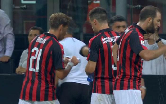 """Milan, Gattuso e il """"pizzino"""" a Biglia"""