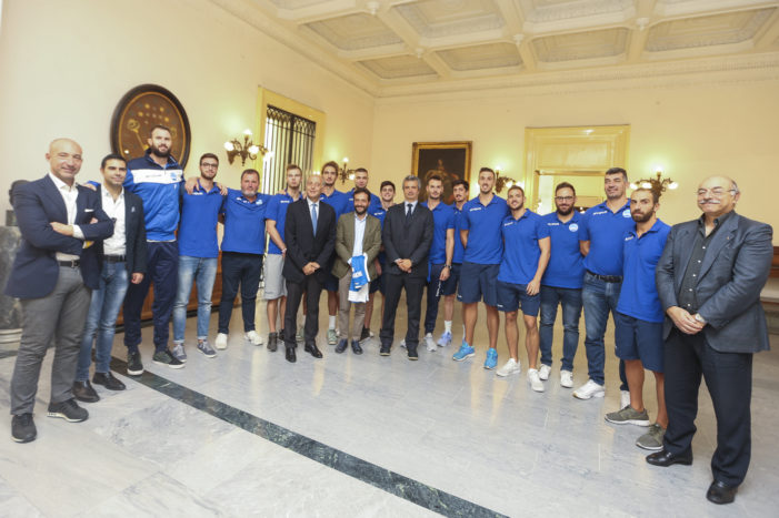 "Napoli Basket a Palazzo San Giacomo, Borriello: ""Riappassioniamoci"""