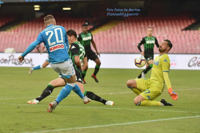 PHOTO GALLERY: 7-10-2018 Napoli vs Sassuolo