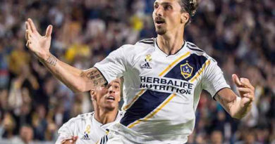 Ibrahimovic dà l'addio ai LA Galaxy