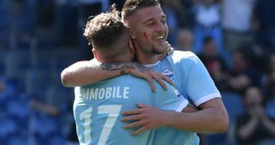 Champions: la Juve travolge la Dinamo Kiev, Lazio buon pari a Dortmund