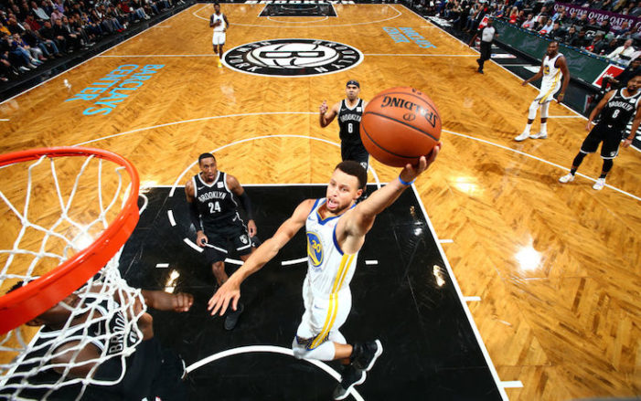 BASKET – Troppo forti Curry (35) e Durant (34), Brooklyn ko