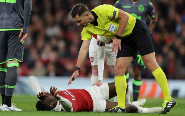 Welbeck shock: brutto infortunio al ginocchio