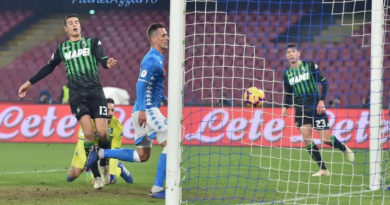 PHOTO GALLERY: 13-1-2019 Napoli vs Sassuolo