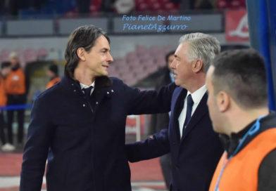 """Lazio, Inzaghi: """"L'espulsione di Acerbi non c'era. Milinkovic sostituito pensando alla Juve"""""""