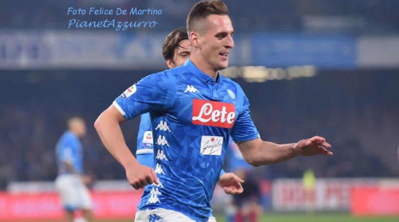 LE PAGELLE DEGLI AZZURRI, Napoli-Lazio 2-1: Milik mattatore, Fabian Ruiz regale