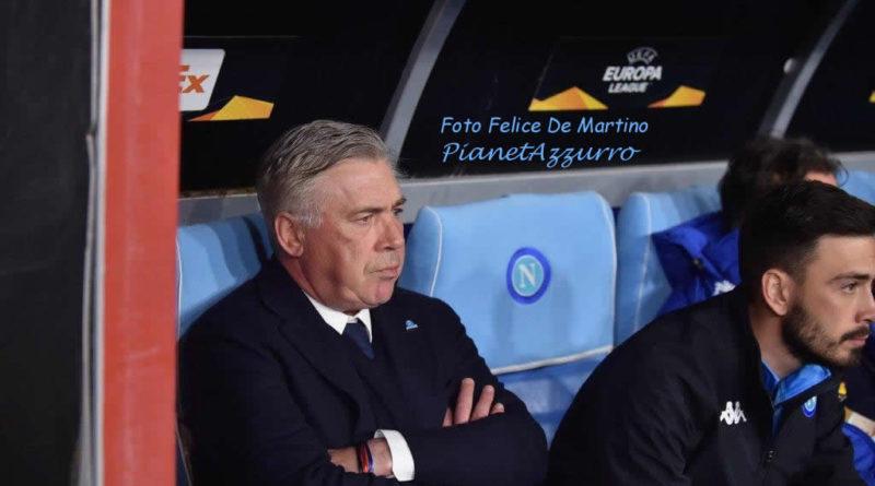 """Ancelotti: """"Napoli, c'è la volontà di crescere e di vincere"""""""