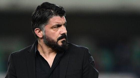 Gattuso è arrivato a Napoli