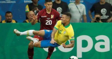 Coppa America: il Venezuela e la Var fermano il Brasile, il Perù vince in rimonta