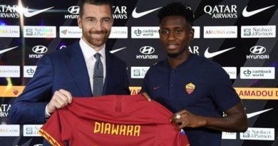 Roma, errore con Diawara nella lista: rischia lo 0-3 a tavolino contro il Verona
