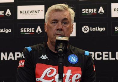 """Ancelotti: """"Concreti ed efficaci. Sul rinnovo di Mertens…"""""""