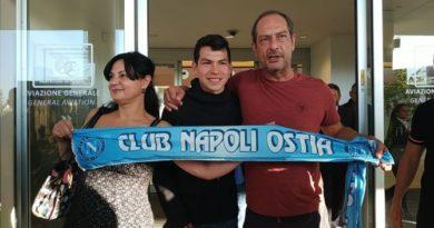 Napoli, Lozano è arrivato in Italia, domani le visite mediche
