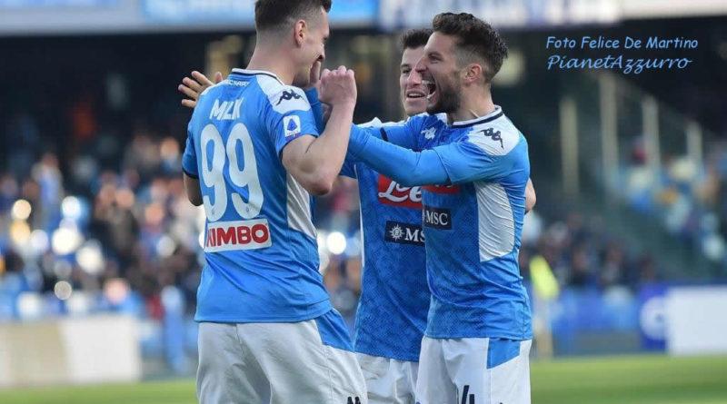 Napoli, i convocati per Brescia, torna Allan