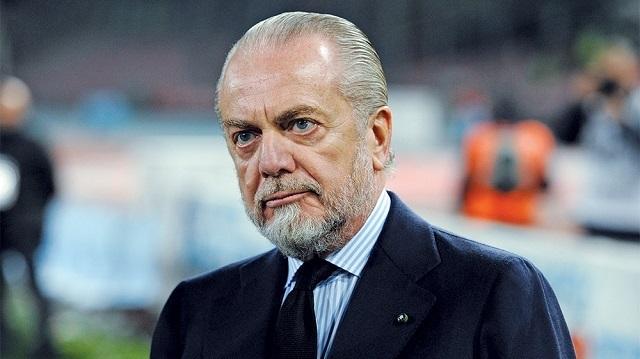 """De Laurentiis: """"Ritiro estivo a Castel di Sangro, si inizierà 12 giorni dopo l'ultima partita che giocheremo in Champions"""""""