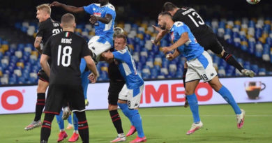PHOTOGALLERY: 12-7-2020 Napoli vs Milan