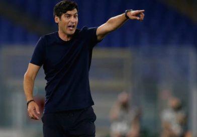 """Roma, Fonseca: """"Niente scuse, non facevamo tre passaggi di fila. Dzeko? Non al meglio"""""""