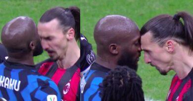 Coppa Italia: il derby della Madonnina va all'Inter ma scintille tra Ibra e Lukaku