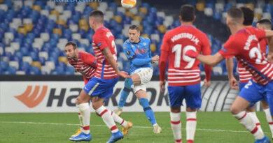 PHOTOGALLERY: 25-2-2021 Napoli vs Granada