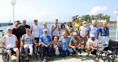 Giornata di canoa paralimpica Cip-Inail a Napoli grazie all'Open Day presso il Circolo Ilva di Bagnoli